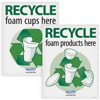 Recycle Foam Products Posters